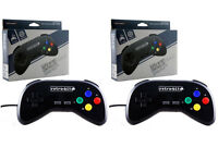 2x Wired Super Retro Controller Duo For Snes Retroduo Retroduo Portable -