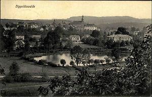 Dippoldiswalde-Sachsen-Saechsische-Schweiz-Osterzgebirge-AK-1910-Kirche-Panorama