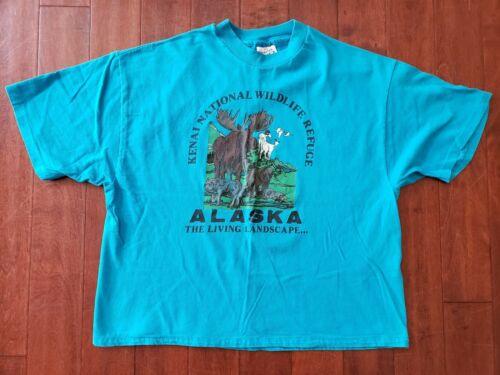 Vintage 90s Refuge For Refugees T Shirt Large Size