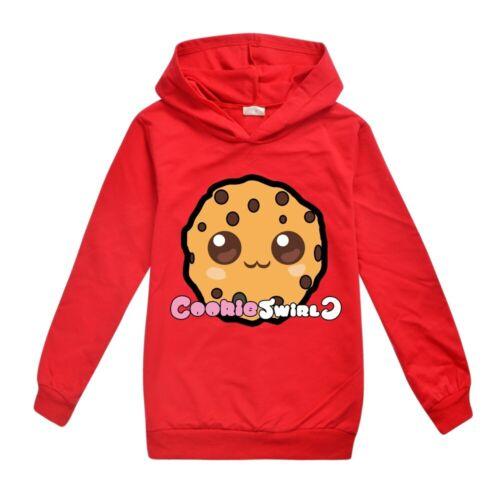 BOYS COOKIE-SWIRL C Hoodie Jumper Birthday Present Gift Hooded Sweatshirt Top