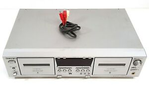 Sony-TC-WE475-Stereo-Cassette-Deck-Doble-euroconector-de-230v-503