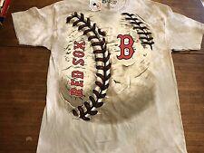 Boston Red Sox Liquid Blue Baseball Team Hardball T-Shirt 2XL NWT New