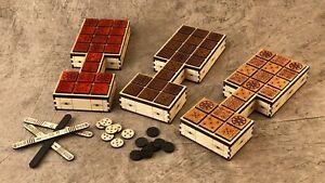 20 Squares Beautiful Craftsmanship LOOK AT THIS! Custom Made Royal Game of Ur