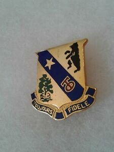 Authentic-US-Army-360th-Infantry-Regiment-Unit-DI-DUI-Insignia-NH