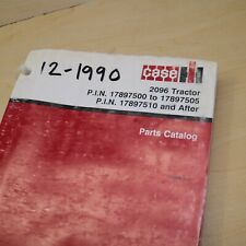 Case Ih International 2096 Tractor Parts Manual Book Spare Catalog Farm 1990 Oem