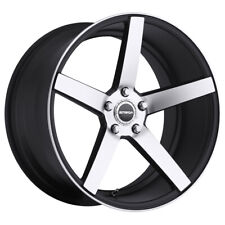 4 Strada Perfetto 20x85 5x45 35mm Blackmachined Wheels Rims 20 Inch Fits 2011 Toyota Camry