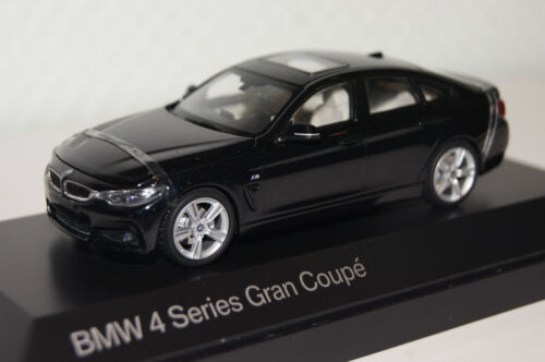 BMW 4er Gran Coupe carbon black 1:43 BMW neu OVP 80422348790