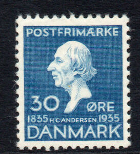Denmark-30-Ore-c1935-Mounted-Mint-Stamp-2178