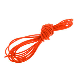 4mm 5m Orange Elastic Bungee Cord Shock Cord Tie Down Boat Trailer Tarpaulin