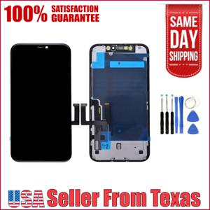 Schermo-LCD-Display-Touch-Digitizer-Telaio-di-montaggio-di-ricambio-per-IPHONE-11-USA