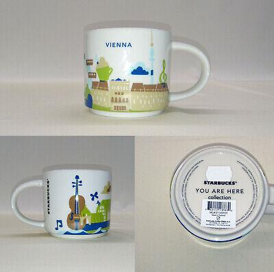 NWT Starbucks AUSTRIA Österreich City Mug YAH Coffee you are here 14oz NEW SKU