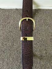 GENUINE CAMEL HIDE! VERY STURDY BELT!! Hill Country Leather MADE, VERY UNIQUE !!