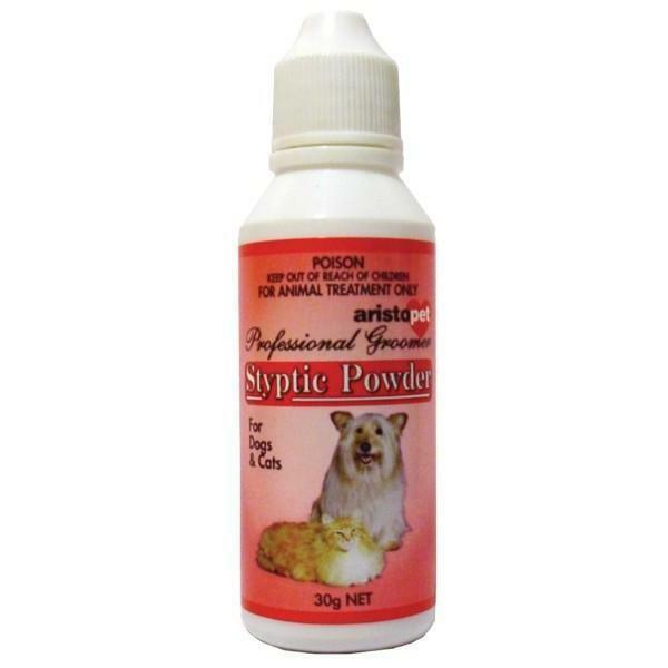 Styptic Powder Cat Dog 30g wound care