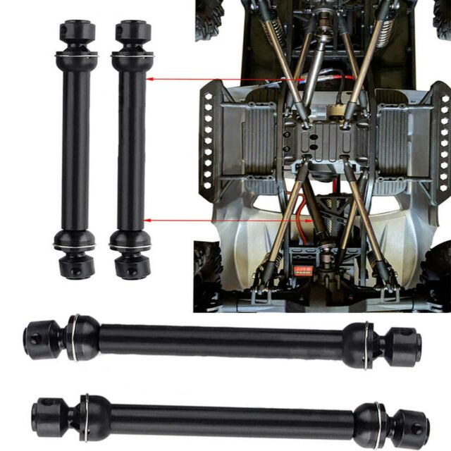 2PCS CVD Metal Universal Drive Shaft for 1/10 Axial SCX10 RC4WD D90 RC Crawler