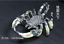 Teeth-of-wolves-Tibetan-silver-Scorpion-Pendant-decorate-Statues miniature 1