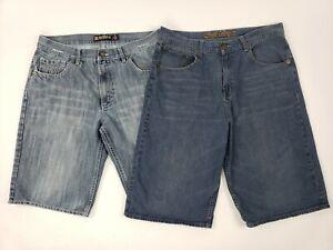 mens denim shorts below the knee