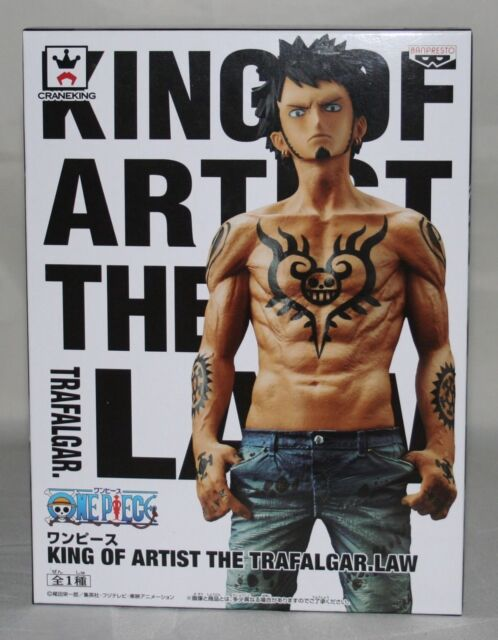 One Piece King of Artist The Trafalgar Law Anime Statue