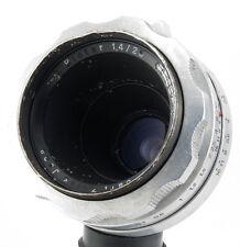 Biotar 25mm f1.4 lens Carl Zeiss Jena 16mm Pentaflex movie camera BMPCC MFT NEX