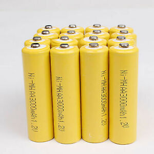 Lot-AA-Rechargeable-Batteries-NiMH-3000mAh-1-2V-For-Garden-Solar-Light-Equipment