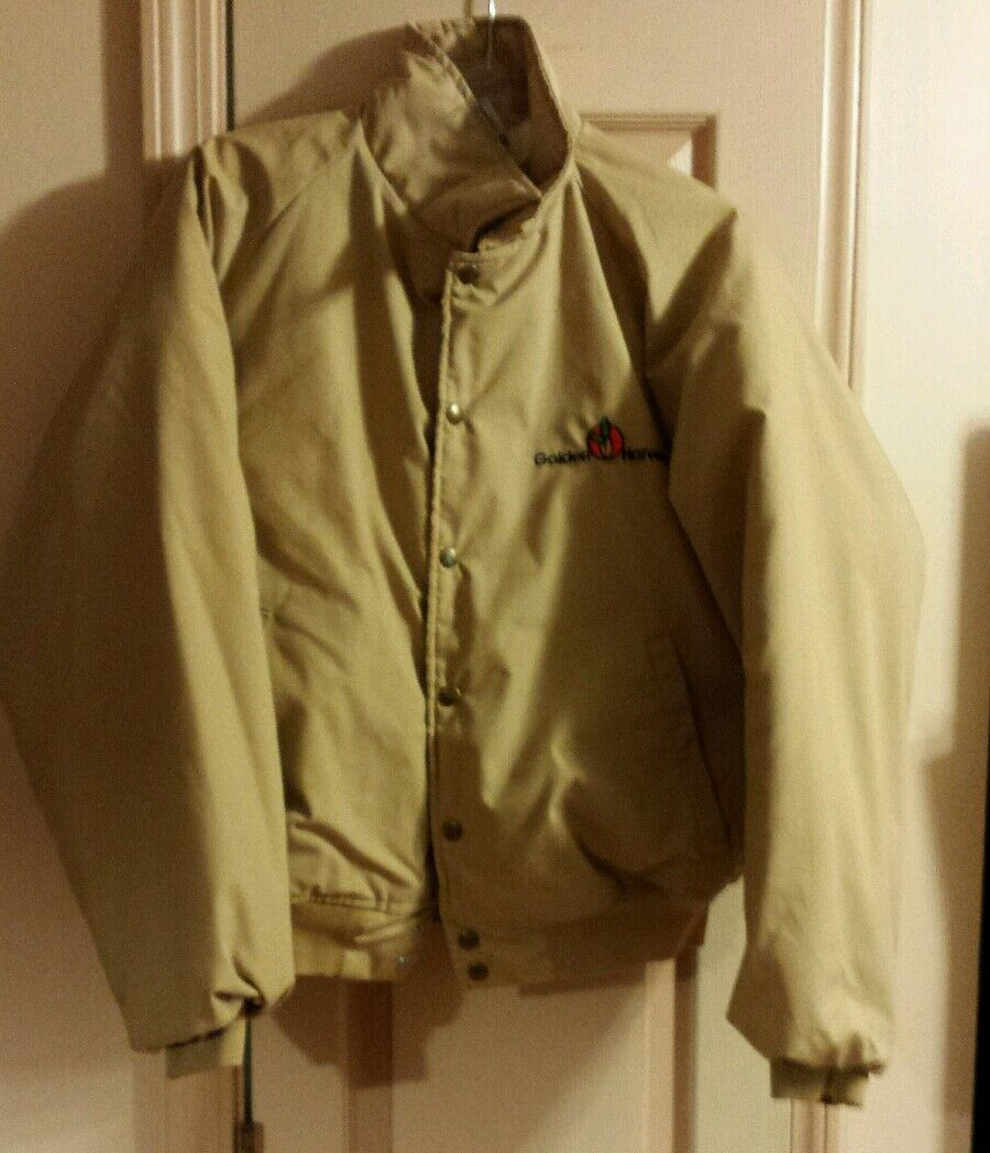 Vintage Swingster golden Harvest Coat Mens Size XL