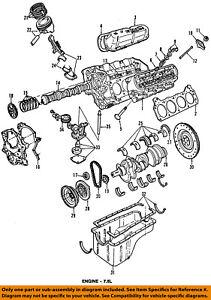 Details about FORD OEM 87-96 E-350 Econoline Club Wagon-Engine Crankshaft  Crank Seal E6TZ6701A