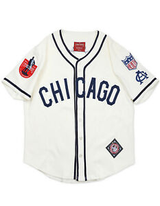 CHICAGO-GIANTS-NEGRO-LEAGUE-BASEBALL-JERSEY-Vintage-collection-Jersey