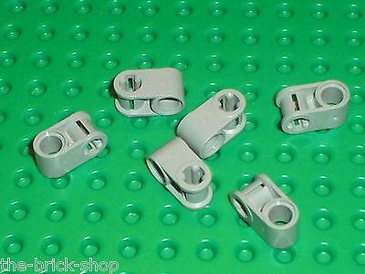 6 x LEGO TECHNIC OldGray axle joiners ref 6536 set 8280 8459 8464 8448 9748 8455