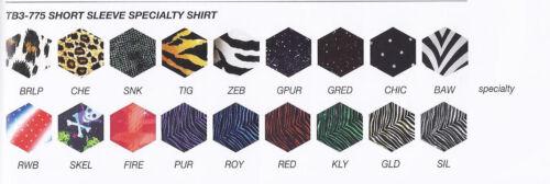 Boys Mens Dance Shirt Costume Child /& Adult Fabric Print Choices