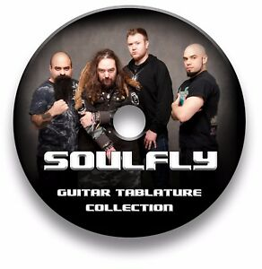 SOULFLY-HEAVY-METAL-ROCK-GUITAR-TAB-TABLATURE-SONG-BOOK-TUITION-SOFTWARE-CD