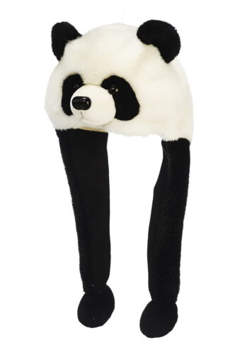 zambiasi PANDA HAT Berretto Peluche Panda