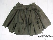 STUNNING WOMENS ALL SAINTS DEVANNA SKIRT COTTON LINEN BUSTLE STEAMPUNK 8 £98 VGC