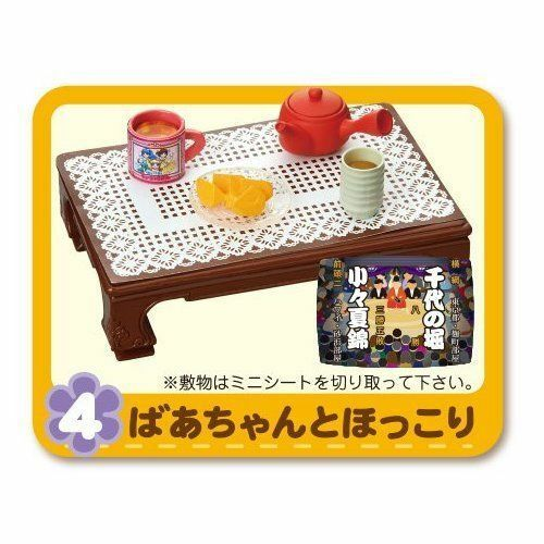 Re-Ment Miniature 80/'s Japanese Home Furniture Electrical Full Set of 8 pcs