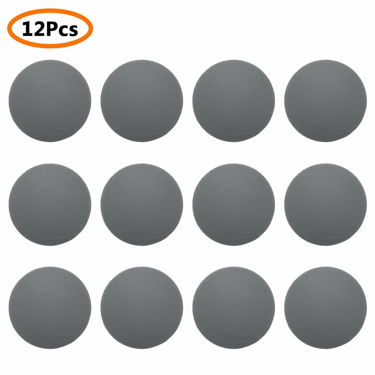 1-100 xtürpuffer 40 mm Door Stopper-Adhesive Rubber Toilet Lid Bump Stop Buffer Stopper