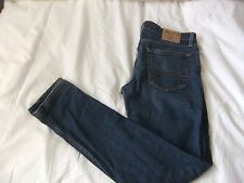 HOLLISTER California Super Skinny Men's jeans 34x34 Blue Denim