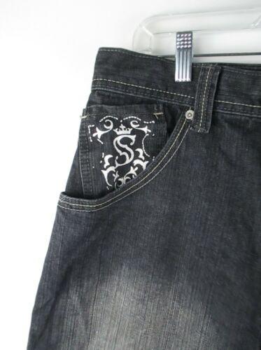Hommes Pole 36 A75 Taille Noir South Jeans 4w5Tdw