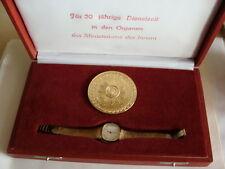 Glashütte  MDI VP  Auszeichnungs Uhr für 30 Jahre  mit OVP für Damen