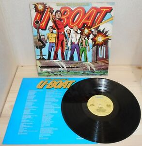 LP-WOODY-WOODMANSEY-039-S-U-BOAT-s-t-Bronze-77-ITALY-1st-ps-new-wave-glam-inner-VG