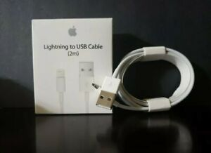 Genuine OEM Original Apple iPhone 12 11 X 8 7 6  2M 6FT USB Lightning Cable Cord