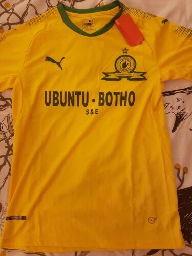 Mamelodi Sundowns Football Shirt - South Africa Jersey Size M