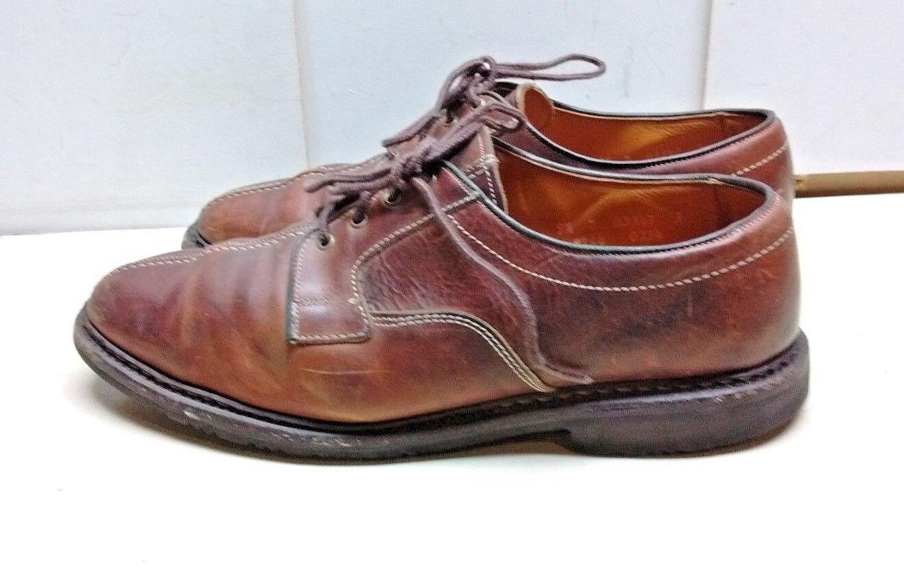 Allen Edmonds Durham Hommes Marron Cuir Derbies Split Toe   Décontractée Chaussures 9.5 M