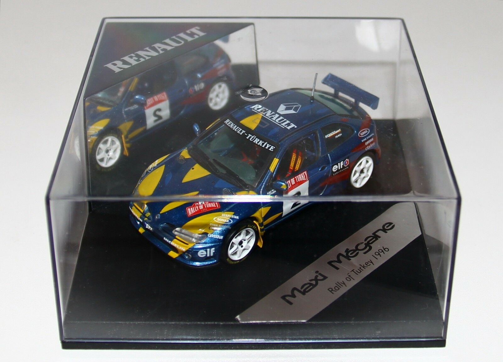 1 43 Vitesse Skid Renault Mégane Maxi Rallye Of Turkey 1996 Avci RARE
