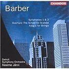 Samuel Barber - Barber: Symphonies Nos. 1 & 2; The School for Scandal Overture; Adagio fort Strings (1998)