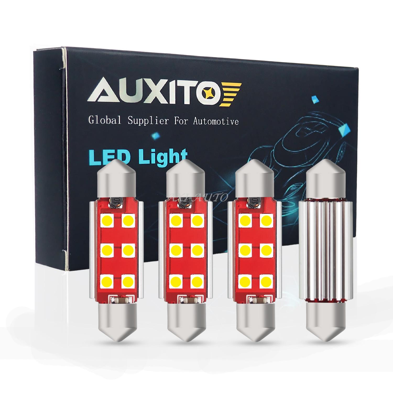 578 211-2 Ultra Bright 4pcs LED Bulb Festoon Dome Map Cargo Light Error Free 12V