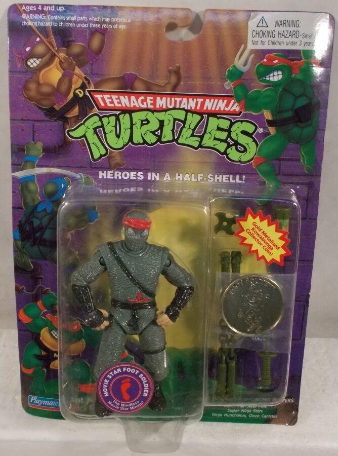 salida Teenage Mutant Ninja Turtles Tmnt 1995 reedición de de de Movie Estrella Pie Soldado Con Moneda  hasta 60% de descuento