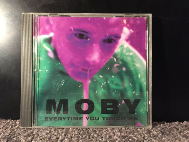 Moby - Everytime you touch me single CD