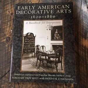 f61c163ba36d Details about American Association for State and Local History: Early  American Decorative Arts