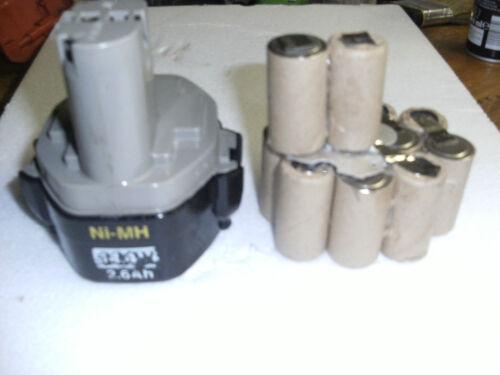 1 Kit remplacement batterie  MAKITA 14,40 V  3Ah