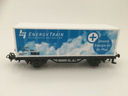 Märklin h0 CARRO CONTAINER NWS Energy Train Neckar opere Stuttgart AG carrello TOP!