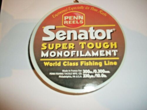 Penn Senator Super Tough One Shot Mono Fishing Line 300m 10lbs
