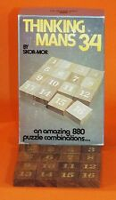 Thinking Mans 34 Game / Puzzle by Skor-Mor